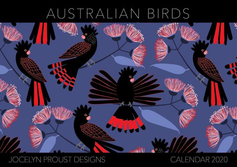 Australian Birds by Jocelyn Proust Designs 2020 Calendar