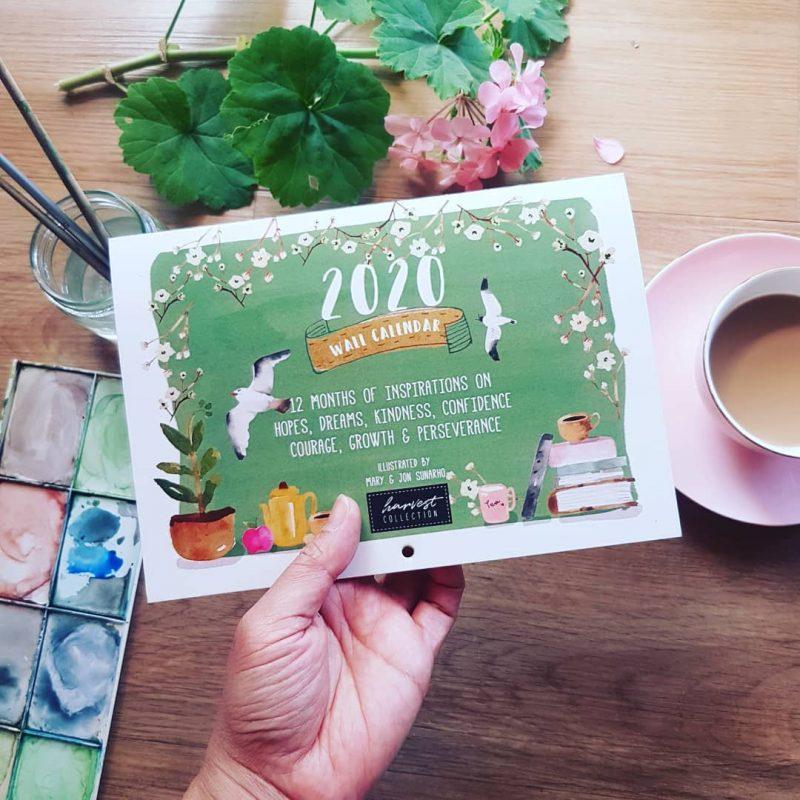 Harvest Collection 2020 Calendar