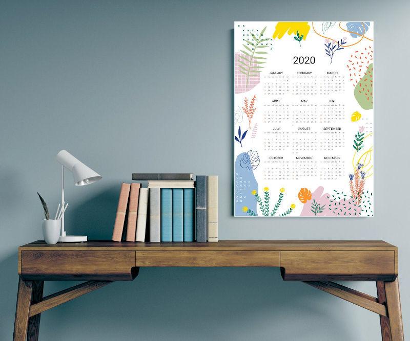 Regent Print 2020 Calendar