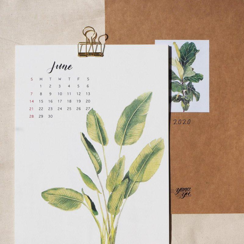 Yanasyyu 2020 Calendar