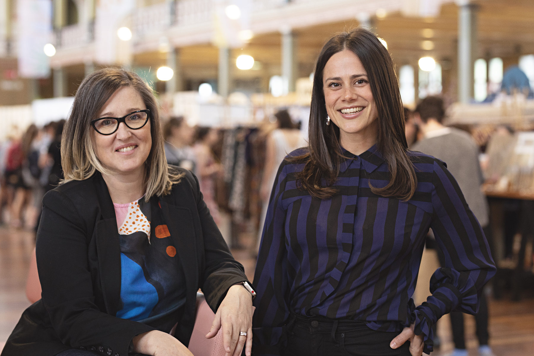 Angela D'Alton and Renee Baker at Finders Keepers