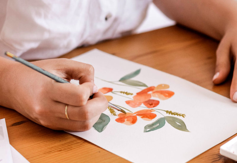 Virtual Markets - Watercolour Artist